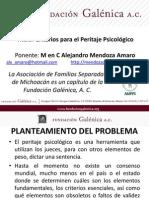 Alejandro Mendoza Amaro Foro el Derecho Familiar en Michoacán