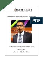 My Favourite Entrepreneur