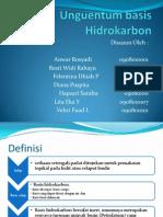 Unguentum Basis Hidrokarbon