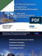 Refining Petrochemicals Integration