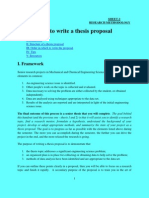 How to Write a Proposal-Final