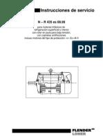 Instrucciones de Servicio Motores Loher