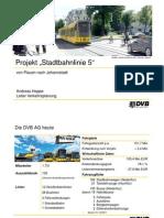 Stadtbahn 2020 - Linie 5