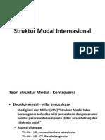 Struktur Modal Internasional
