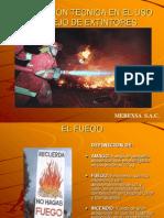 EXPOSICION EXTINTORES MEREXSA