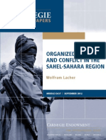 Organized Crime and Conflict in the Sahel-Sahara Region