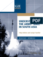 """Understanding the Arms """"Race"""" in South Asia"""