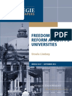 Freedom and Reform at Egypt's Universities
