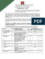 Advt Karaikal Regular Posts-2013 Final