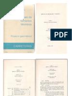 Manual de Servicios Tecnicos Para Proyecto Geometrico de Carreteras