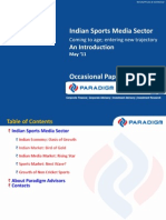 Sports Media Sector Presentation