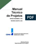 Manual Técnico de Projetos - CDHU