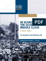 In Search of the Global Middle Class