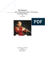 The Bansuri a Western Flutists Beginning Guide to Performing Hindustani Ragas