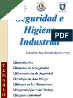 Sesión 1 - Introducción a la Seguridad e Higiene Industrial
