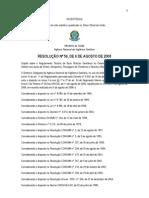 RDC 56 - Gerenciamento de Resíduos Sólidos nas áreas de Portos, Aeroportos, Passagens de Fronteiras e Recintos Alfandegados.