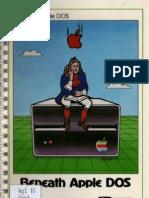 Beneath Apple DOS Split