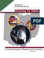Manufacturing in Ohio 2013