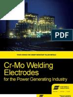 Esab Chrome Moly electrode Brochure