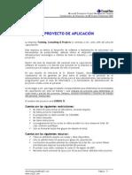 PROYECTO DE APLICACIÓN DEL CURSO