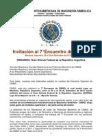 Invitación-Programa CIMAS 2013 Mendoza