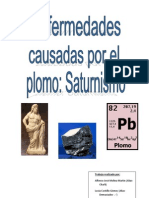 Saturnism o