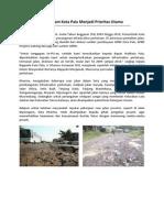 Kerusakan Jalan Dalam Kota Palu Menjadi Prioritas Utama.doc