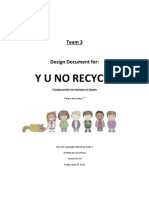 Yu No Design Document