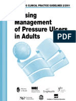 Nursing Management of Pressure Ulcers in Adults