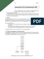 Dimensionnement d'Un Transformateur HF