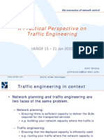 A Practical Perspective on Traffic Engineering
