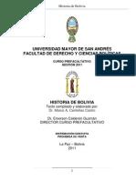 Historia de Bolivia UMSA1