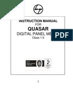 Quasar Manual