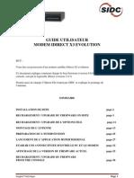 Copie de GUIDE UTILISATEUR Modem X3 Evolution