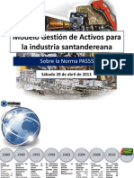 Modelo Gestión de Activos para la industria santandereana sobre la Norma PAS55