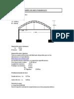 Arco Parabolico l=30m