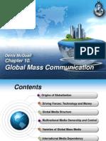 Global Communication. Chapter 10. Denis McQuail.