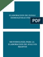 Zonas Homogeneas Fisicas Llano Ariel 2010 Presentacion