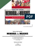 Vaso de Leche Memoria de Las Mujeres