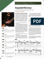 expanded harmony