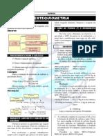 estequiometria - exercicios resolvidos  química 11º