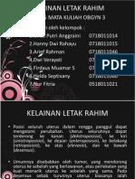 1. KELAINAN LETAK RAHIM.pptx