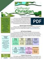 4/22/13 Newsletter
