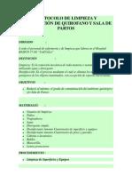 Protocolo de Quirofanos