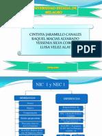 Diferencias y Semejanzas Entre La NIC 1 y