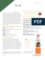 Vemma Multivitamin Fact Sheet