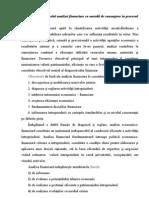 Analiza financiară a întreprinderii