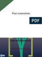 Prezi screenshots