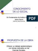 10 Conocimiento Lo Social