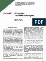 1973 Ethnography